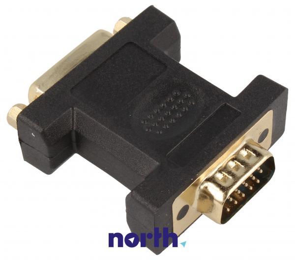 Adapter VGA - DVI (wtyk/ 24+5 gniazdo),1
