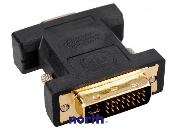 Adapter VGA - DVI (gniazdo/ 24+5 wtyk),0