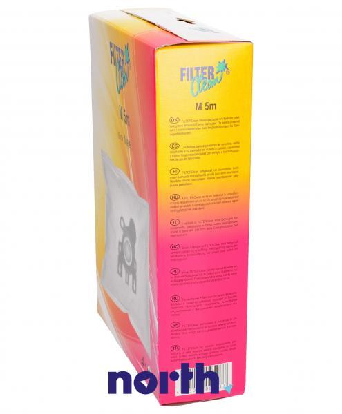 Worek do odkurzacza M5/6/8M 4szt. (+2 filtry) FL0014K,2