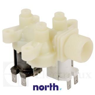Elektrozawór podwójny do pralki Electrolux 1105381022,1