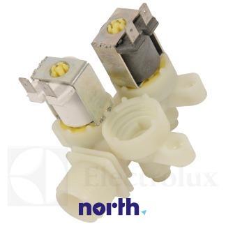 Elektrozawór podwójny do pralki Electrolux 1105381022,2