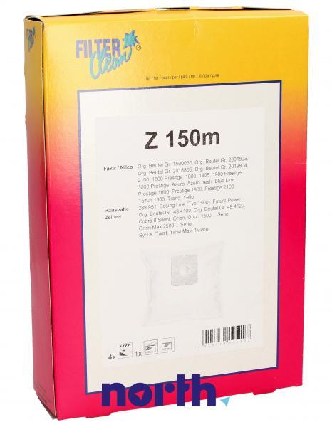 Worek do odkurzacza Z1500M Zelmer 4szt. (+2 filtry) FL0038K,0