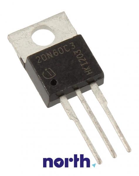 SPP20N60C3 Tranzystor TO-220AB (n-channel) 600V 45A 3MHz,0