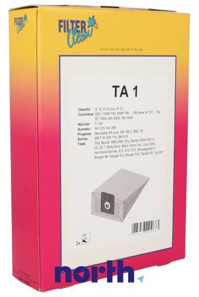 Worek TA1 do odkurzacza 3szt.,0