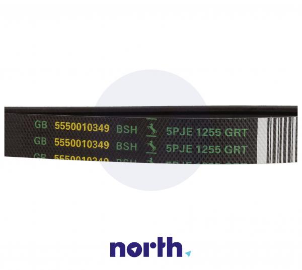 1255J5EL Pasek napędowy elastyczny do pralki Siemens 00439490,1