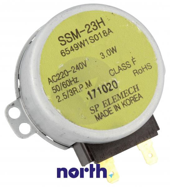 Silnik napędowy SSM-23H mikrofalówki LG 6549W1S018A,0