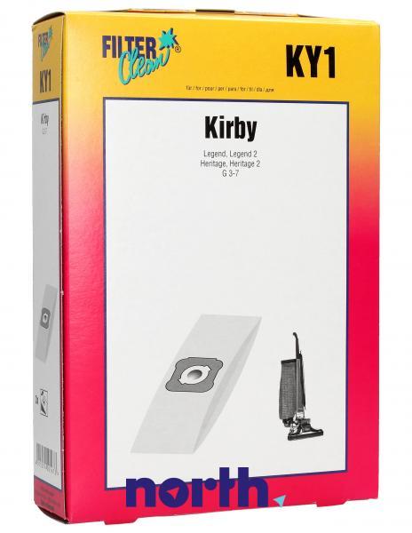 Worki papierowe do odkurzacza Kirby KY1 000280K,0