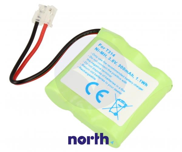 CPAA36043 Akumulator 3.6V 300mAh telefonu bezprzewodowego,1