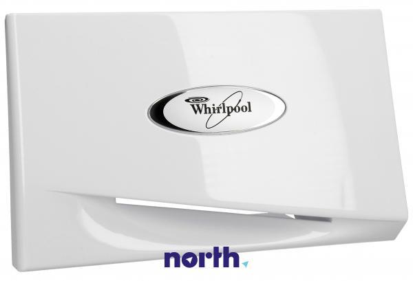 Przód | Front pojemnika na proszek do pralki Whirlpool 481249818649,0