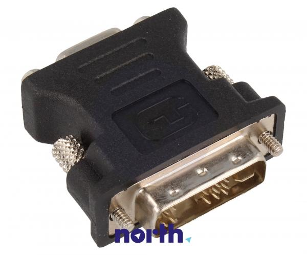 Adapter VGA - DVI (gniazdo/ wtyk),0
