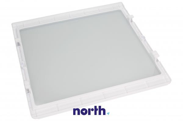 Szyba | Półka szklana kompletna do lodówki Siemens 00662038,1