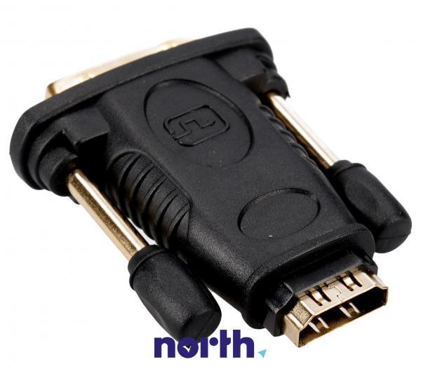Adapter HDMI gniazdo / wtyk DVI (18+1),1