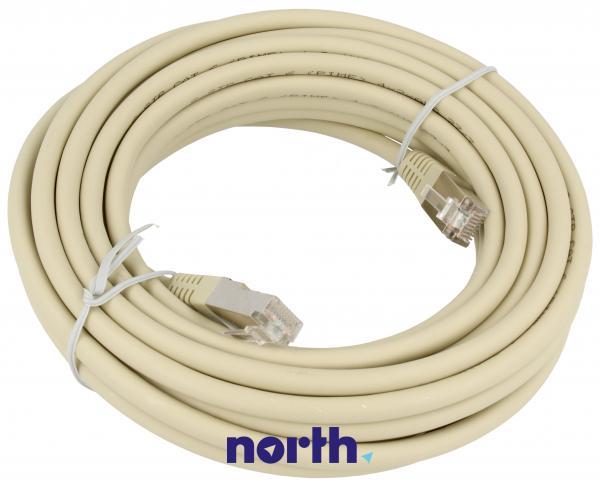 Kabel CAT-6 7m (wtyk/ wtyk) | (RJ-45/skrętka),0