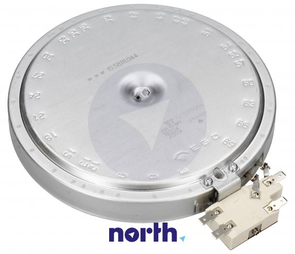 Pole grzejne średnie 1800W 180mm do płyty grzewczej Electrolux 3740636216,1