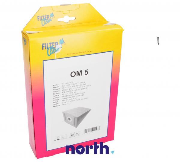 Worek do odkurzacza OMEGA5/Y1 OM5 5szt. (+mikrofiltr) 000771K,0