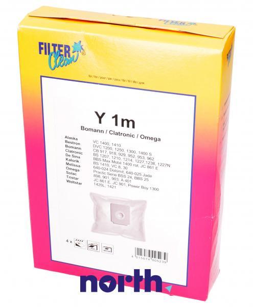 Worek do odkurzacza Y1M 4szt. (+filtr) FL0036K,0