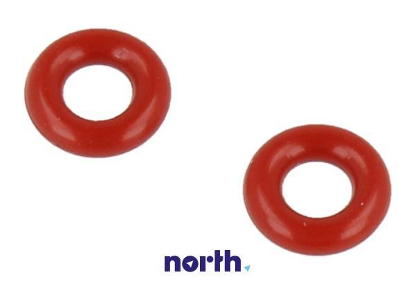 Uszczelka o-ring (3.4x1.9mm) czerwona 2szt. do ekspresu do kawy Siemens 00425970,0