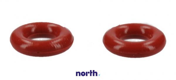Uszczelka o-ring (3.4x1.9mm) czerwona 2szt. do ekspresu do kawy Siemens 00425970,1