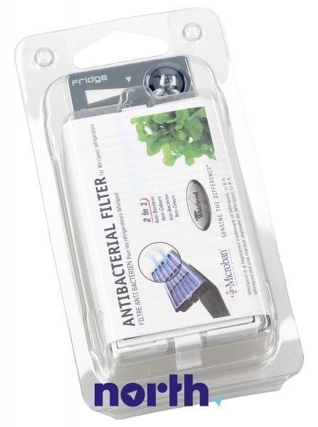 Filtr powietrza ANT001 antybakteryjny do lodówki Whirlpool 481248048172,1