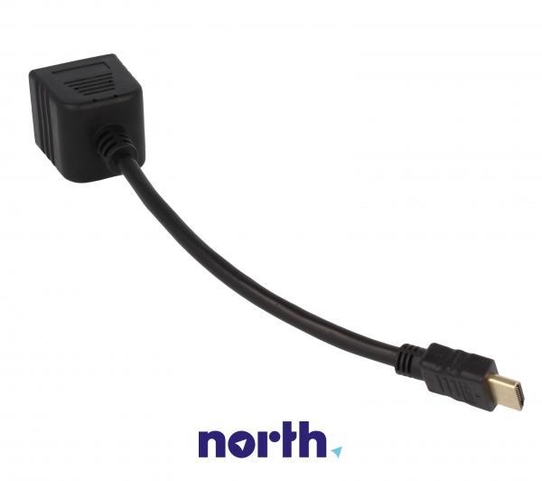 Rozgałęźnik HDMI 0.2m (wtyk/ wtyk x2) high quality,1