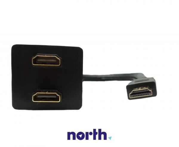 Rozgałęźnik HDMI 0.2m (wtyk/ wtyk x2) high quality,3