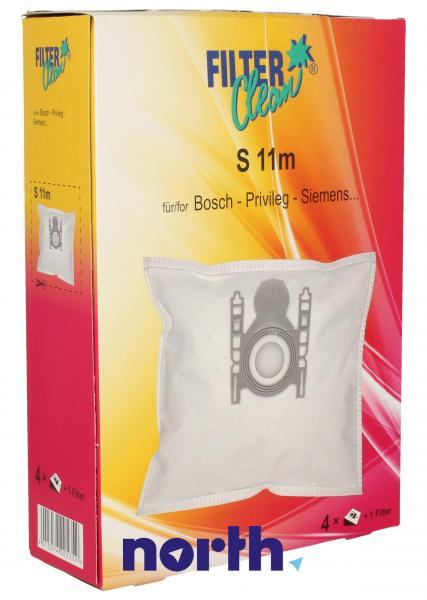 Worek do odkurzacza S11M Bosch 4szt. (+mikrofiltr) FL0050K,0