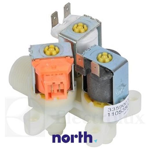 Elektrozawór wody do pralki Electrolux 4071360194,2