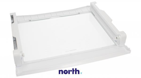 Półka szklana nad pojemnikiem na warzywa z prowadnicami do lodówki LG ACQ76172622,1