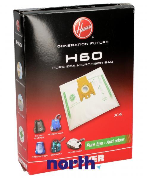 Worek H60 do odkurzacza 4szt. - oryginał: 35600392,0