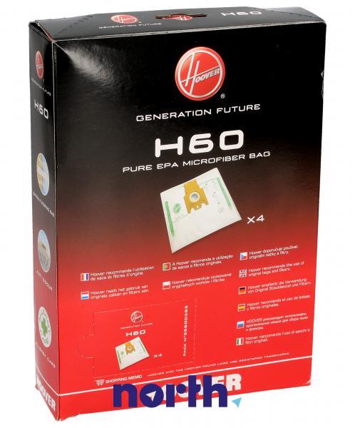 Worek do odkurzacza H60 Hoover 4szt. 35600392,1