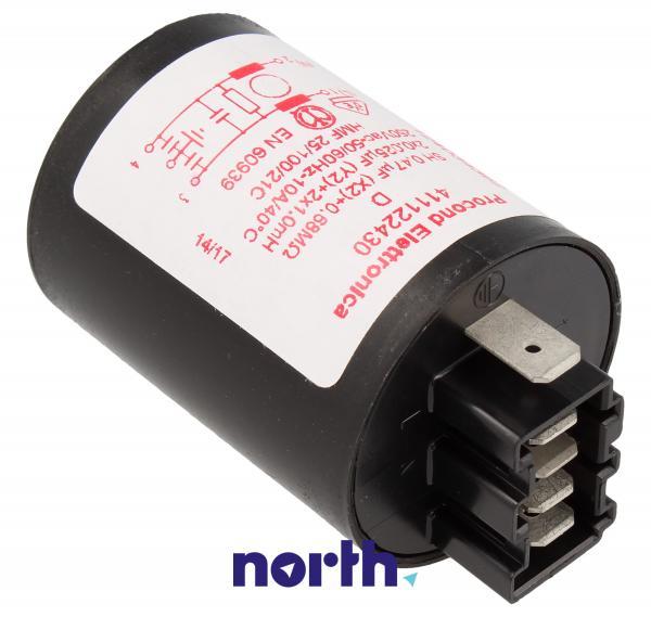 Kondensator rozruchowy do pralki Electrolux 1240343622,1