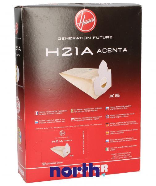 Worek do odkurzacza H21A Hoover 5szt. 09173873,1