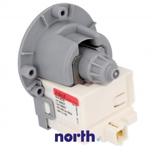 Silnik pompy odpływowej 296037 do pralki Bosch,1