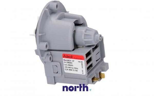 Silnik pompy odpływowej 50266 do pralki LG,1