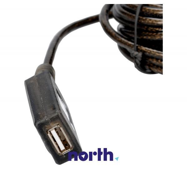 Kabel USB A 4.8m (wtyk/ gniazdo) | (Aktywny),1