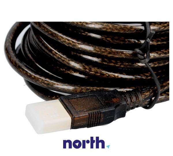 Kabel USB A 4.8m (wtyk/ gniazdo) | (Aktywny),2