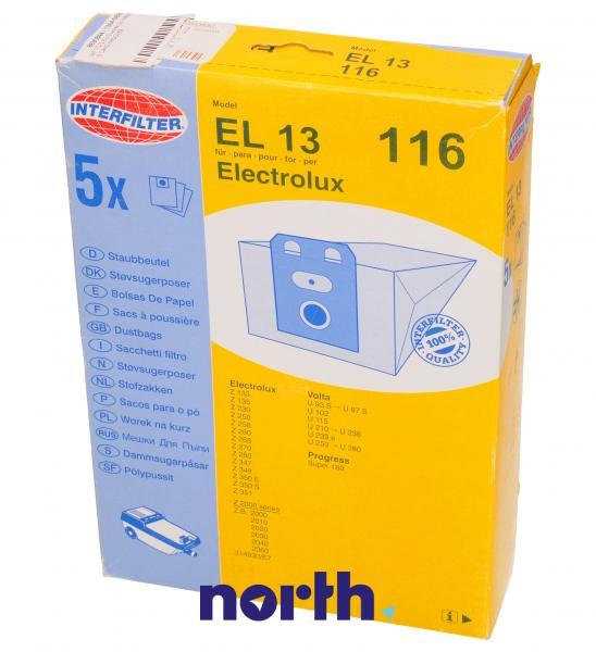 Worek do odkurzacza EL13 116 Electrolux 5szt. 09717075,0