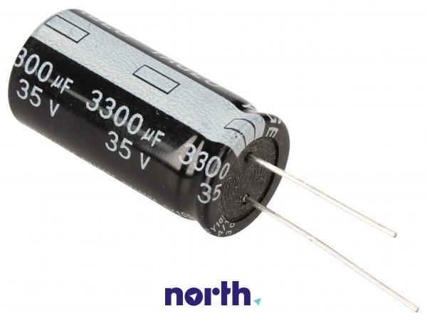 3300uF   35V Kondensator elektrolityczny 105°C 36mm/16mm,0
