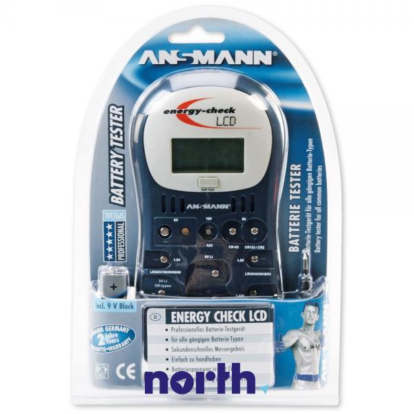 Miernik | Tester baterii z wyświetlaczem LCD 4000392 Ansmann,1