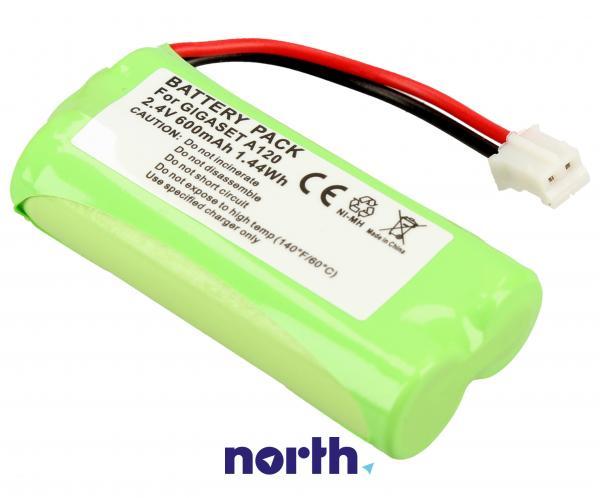 CPAA24000 Akumulator 2.4V 550mAh telefonu bezprzewodowego,1