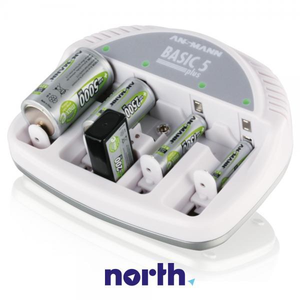 Ładowarka akumulatorów BASIC5PLUS R3/R6/R14/R20/6F22,0