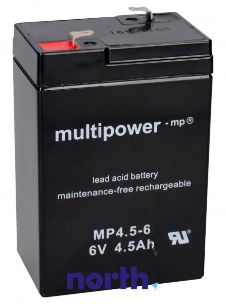 MP4,56 Akumulator UPS 6V 4500mAh Multipower (1szt.),0