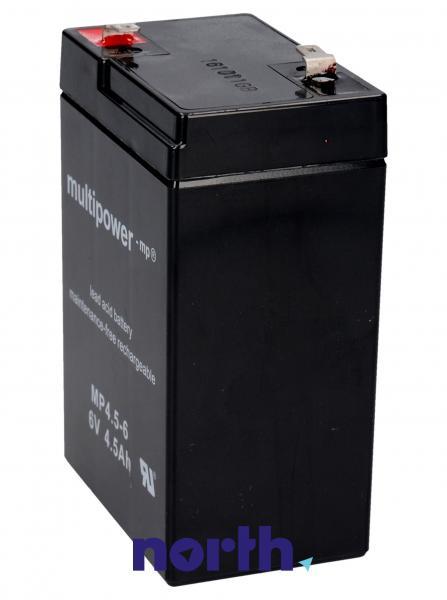 MP4,56 Akumulator UPS 6V 4500mAh Multipower (1szt.),1