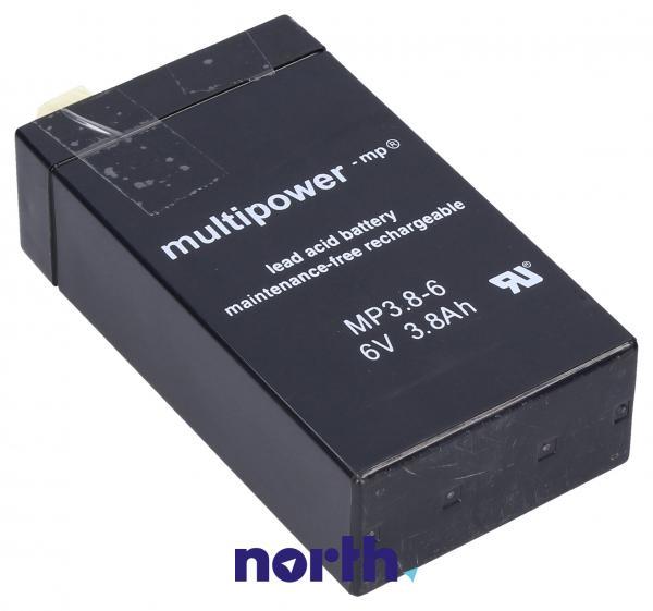 MP3,86 Akumulator UPS 6V 3800mAh Multipower (1szt.),0