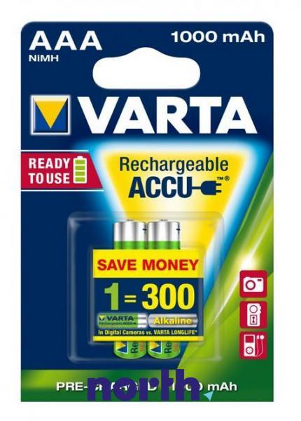 R3 Akumulator AAA 1.2V 1000mAh Varta (2szt.),0