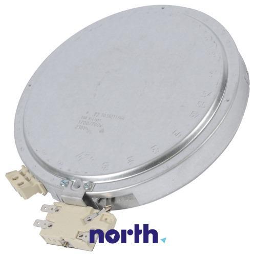 Pole grzejne podwójne (1700W/700W) do płyty grzewczej Electrolux 3740754217,0