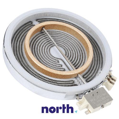 Pole grzejne podwójne (1700W/700W) do płyty grzewczej Electrolux 3740754217,1