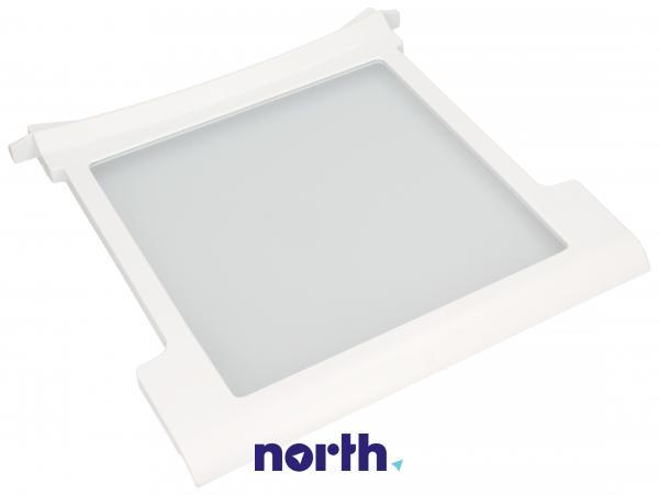 Szyba   Półka szklana kompletna do lodówki 481245088482,0