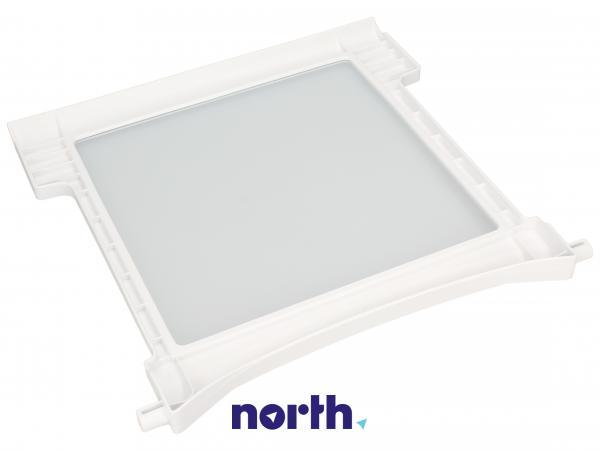 Szyba   Półka szklana kompletna do lodówki 481245088482,1