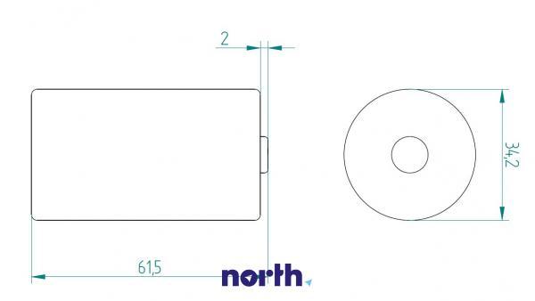 R20 | LR20 | MN1300 Bateria D alkaliczna 1.5V 12000mAh Varta (2szt.),1
